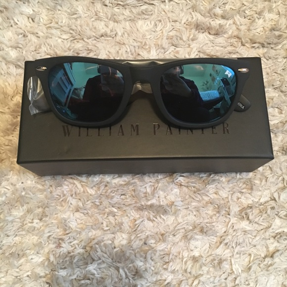 f3b450bba696c William Painter the hook Titanium sunglasses NWT